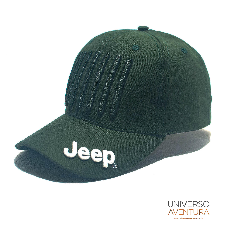 Boné Grade Jeep – Original Jeep – Universo Aventura Brasil 941a03ae4dc